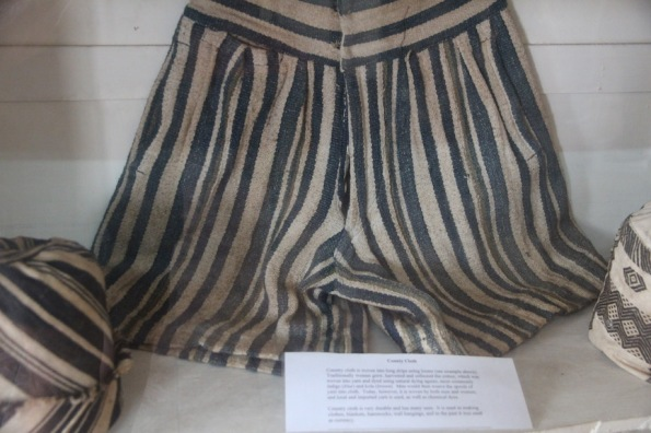 Country cloth shorts, Sierra Leone