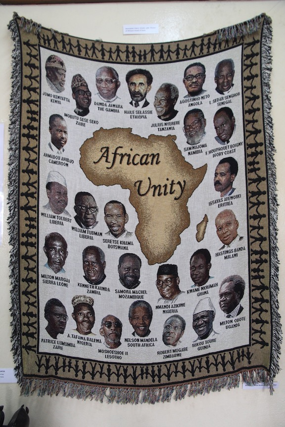 Banner of African leaders