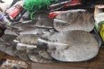 Shovels, Nassian market, Ivory Coast