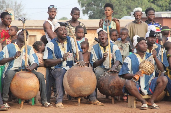Musicians for the Dance of the Panther, Ivory Coast