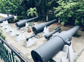 Battle cannons, Vietnam