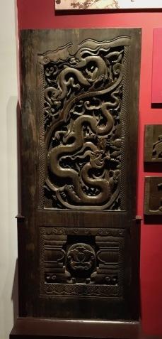 Timber door, Vietnam