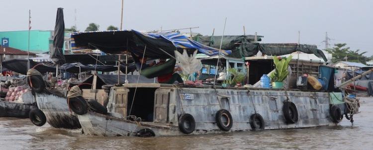 Cai Rang Market, Mekong Delta, Vietnam