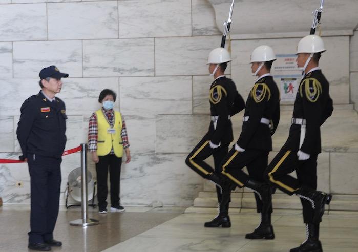 Changing of the Guard, Chiang Kai-Shek Memorial Hall, Taiwan
