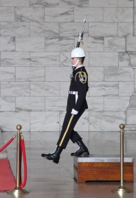 Changing of the Guard, Chiang Kai-Shek Memorial Hall