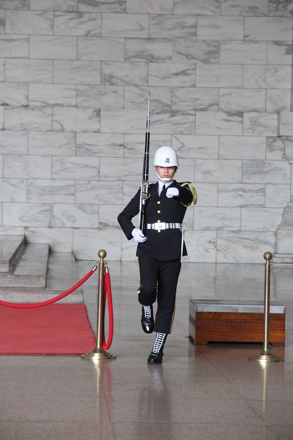 Changing of the Guard, Chiang Kai-Shek Memorial Hall