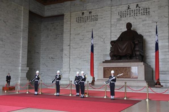 Changing of the Guard, Taipei Taiwan