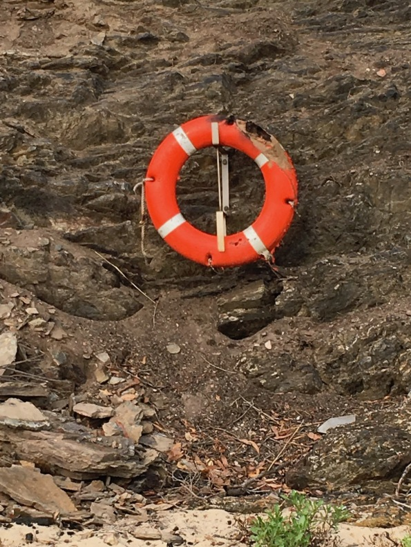 Scorched life preserver
