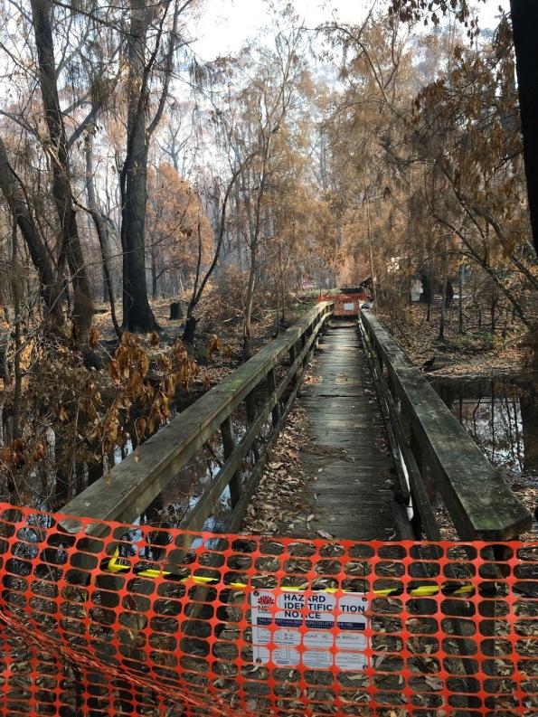 Rosedale footbridge, NSW Australia