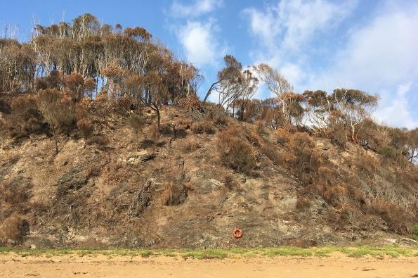 Burnt hill