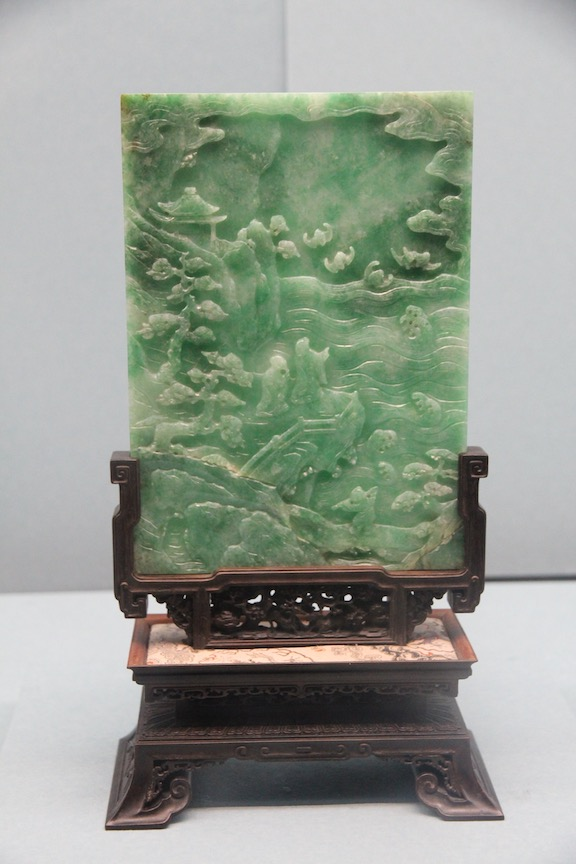 Table screen, Qing dynasty