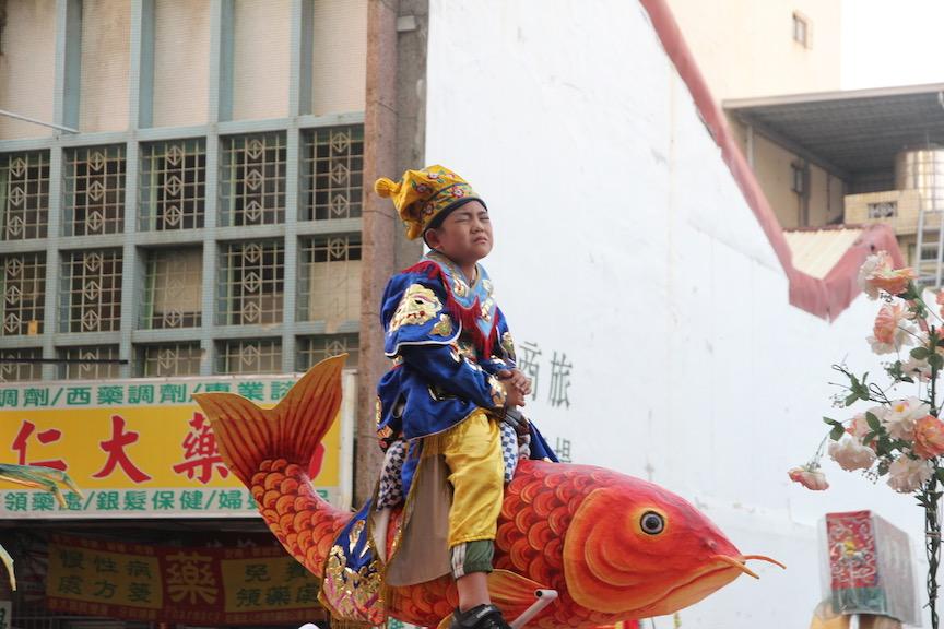 Parade in Tainan, Taiwan